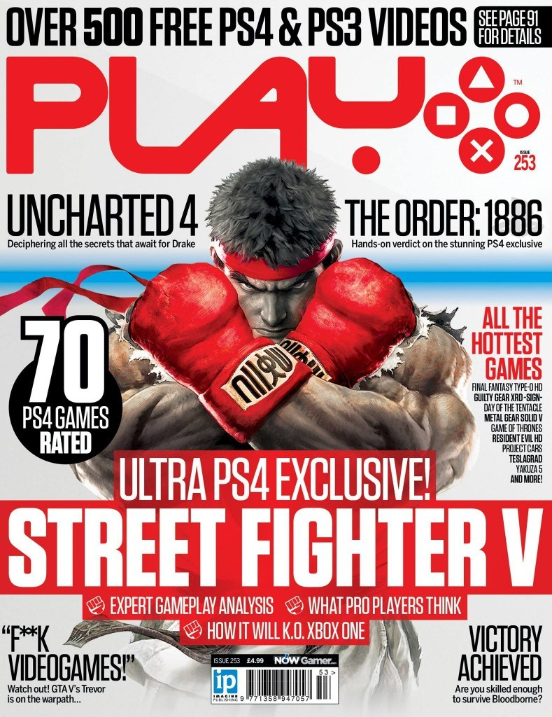 Play Issue 253 Features Street Fighter 5, Uncharted 4 and More