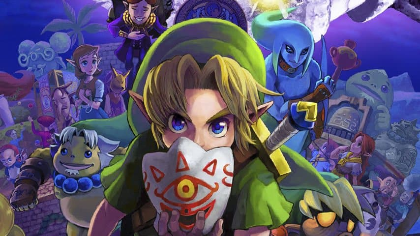 Zelda: Majora's Mask 3D Gear Locations Guide