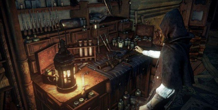 Bloodborne Abandoned Old Workshop Location 'The Source of Dream Trophy Guide
