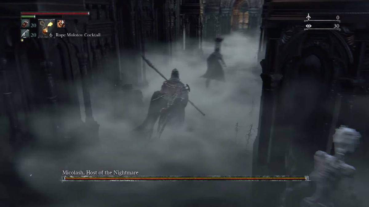 Bloodborne Micolash Boss Guide - How to Kill, Tips and Strategy