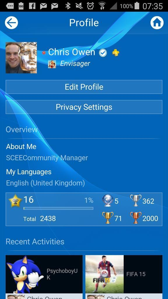 PlayStation Network - Verified Accounts