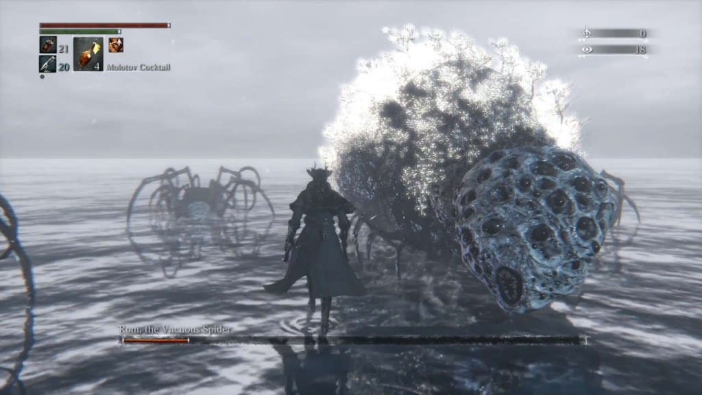 Bloodborne Rom the Vacuous Spider Boss Guide - How to Kill, Tips and Strategy