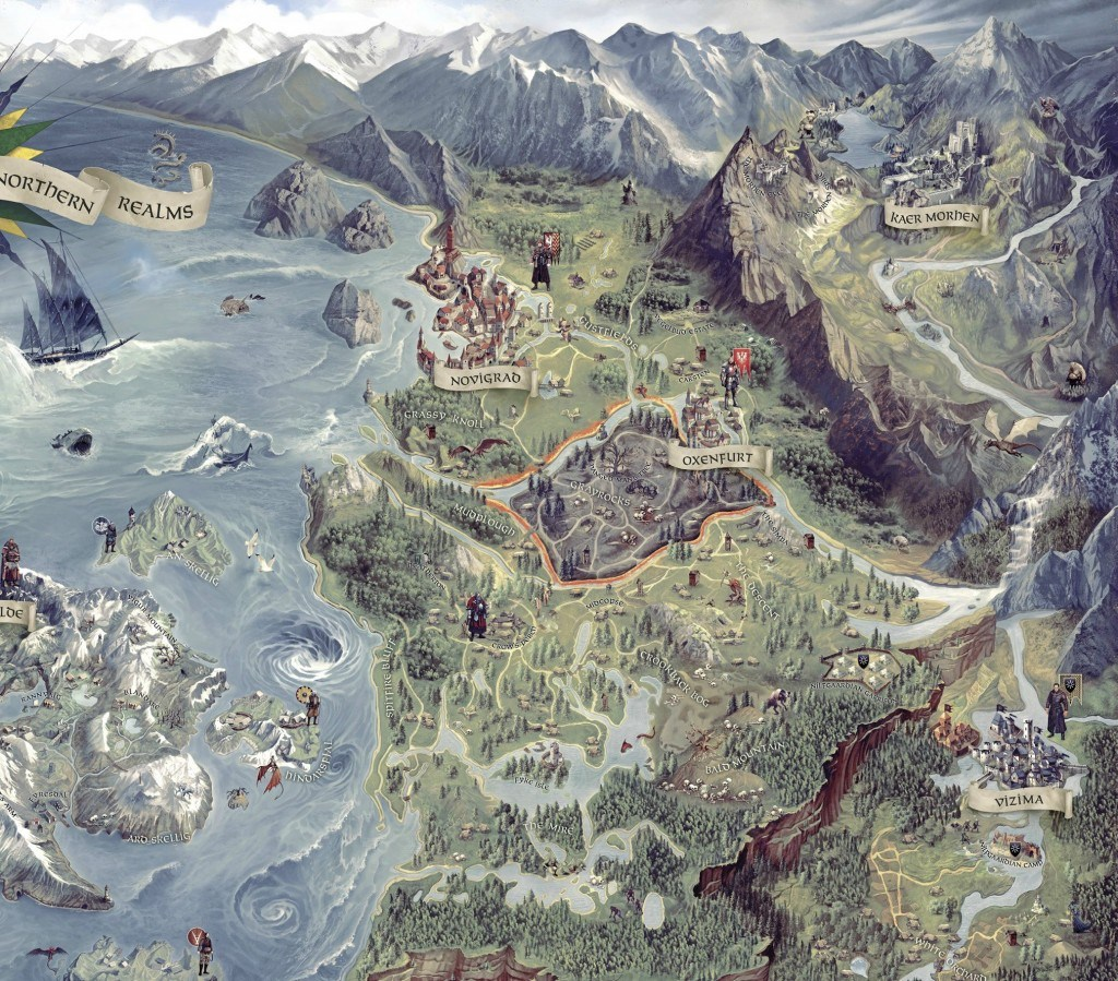 The Witcher 3 Full Game Map