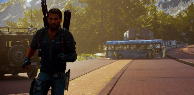 Just Cause 3 MONORAIL TRAINS