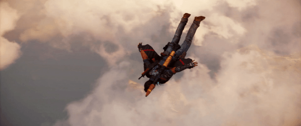 Just Cause 3 Wing Suit