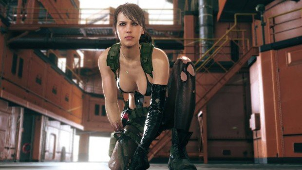 MGS 5 The Phantom Pain Quiet