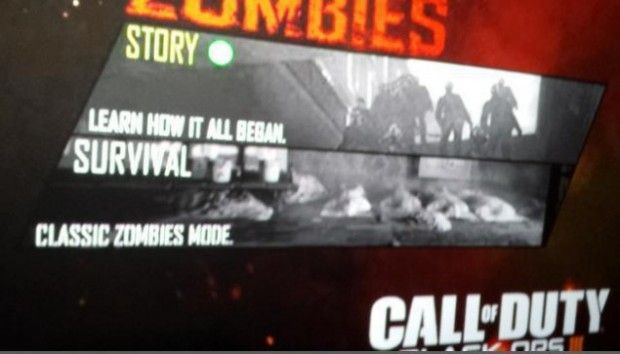 Black Ops 3 Zombies Story Mode Leak