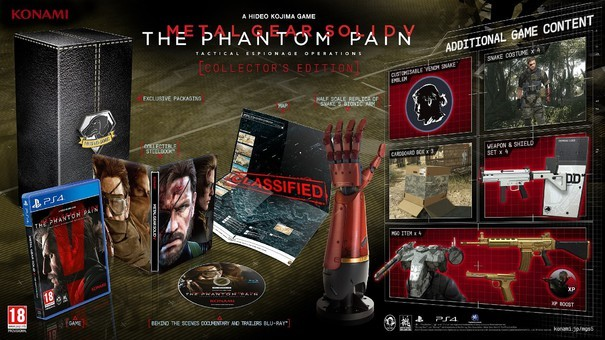 Metal Gear Solid V: The Phantom Pain Collector's Edition Sold Out in UK