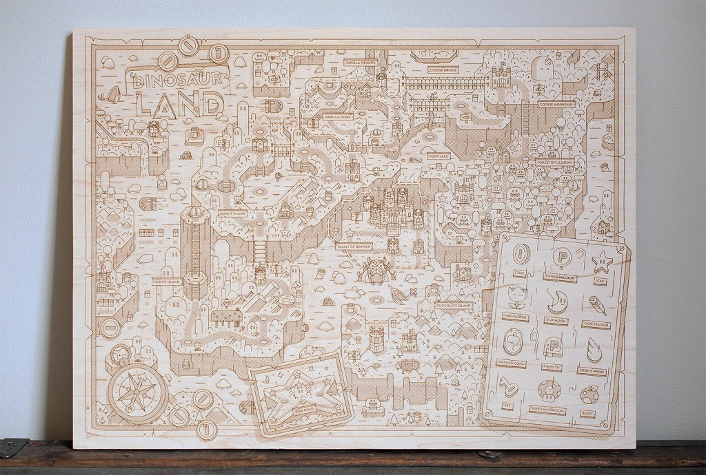 super-mario-world-wooden-map-4