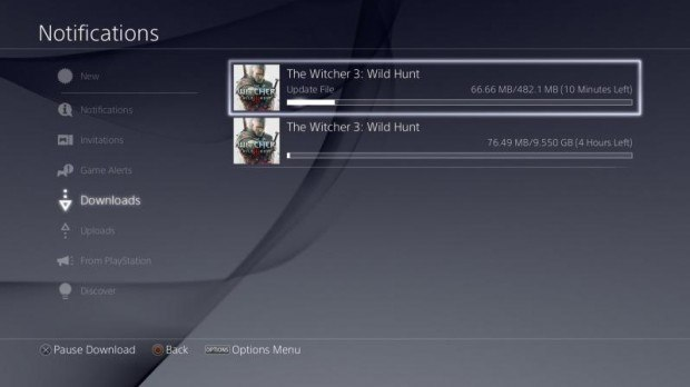 The Witcher 3 Patch 1.01