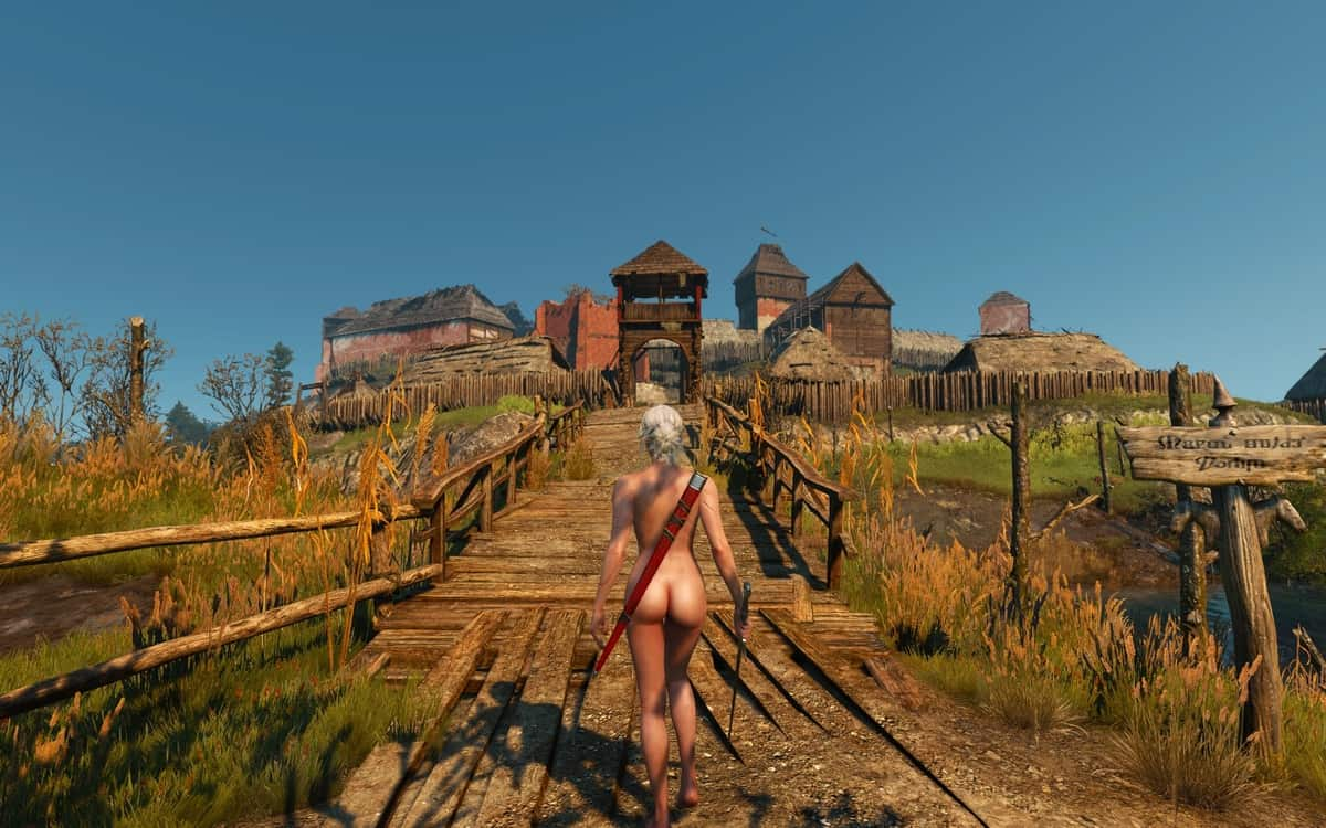 The Witcher 3: Wild Hunt Nude Mods Are Here To Stay