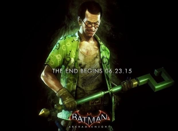 Batman Arkham Knight - Riddler Poster