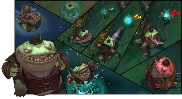 League of Legends - Tahm Kench Comic