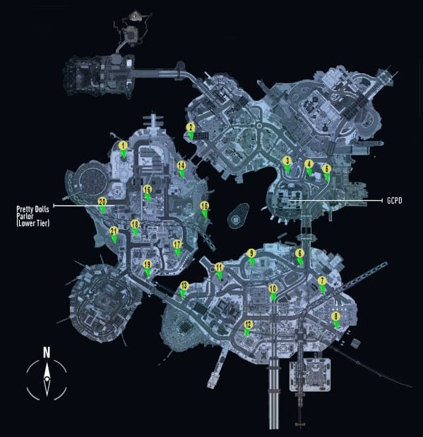 Batman Arkham Knight Occupy Gotham 'Watch Towers Locations Guide