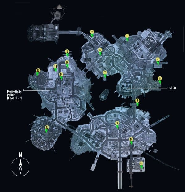 Batman Arkham Knight Line of Duty 'Firefighters Locations' Guide