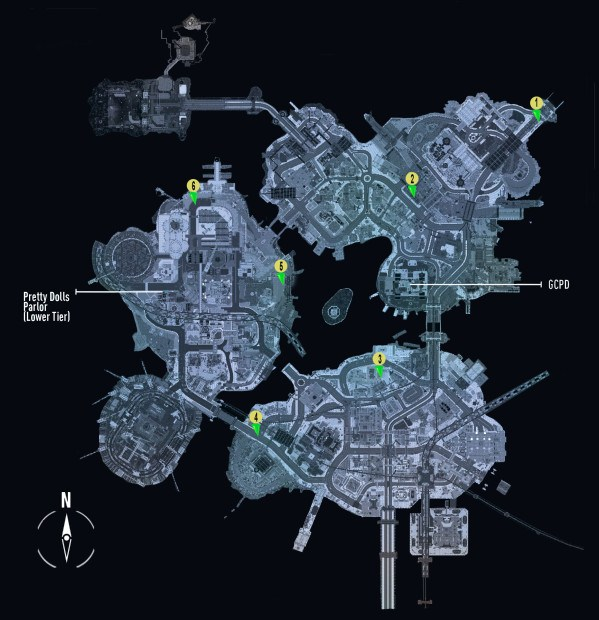 Batman Arkham Knight The Perfect Crime 'Corpse Locations Guide