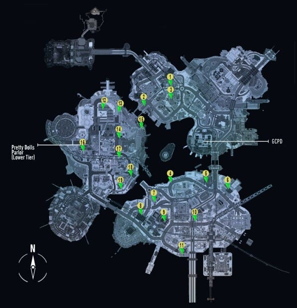 Batman Arkham Knight Own the Roads 'Checkpoints Locations Guide