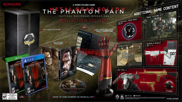 Metal Gear Solid 5 The Phantom Pain Collectors Edition