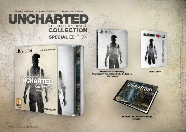 Uncharted: Nathan Drake Collection Special Edition