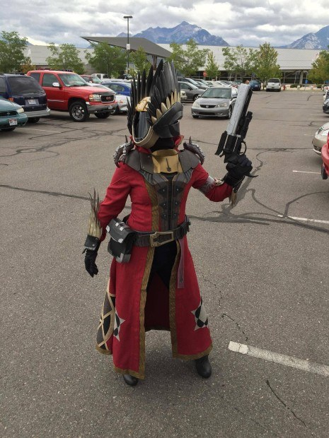 Destiny Warlock Exotics Cosplay