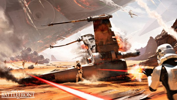 Star Wars Battlefront july update