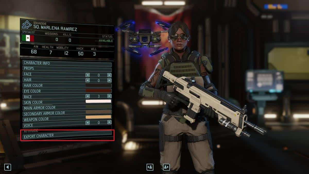 Xcom 2 might allow you to share and export characters for Portent xcom not now