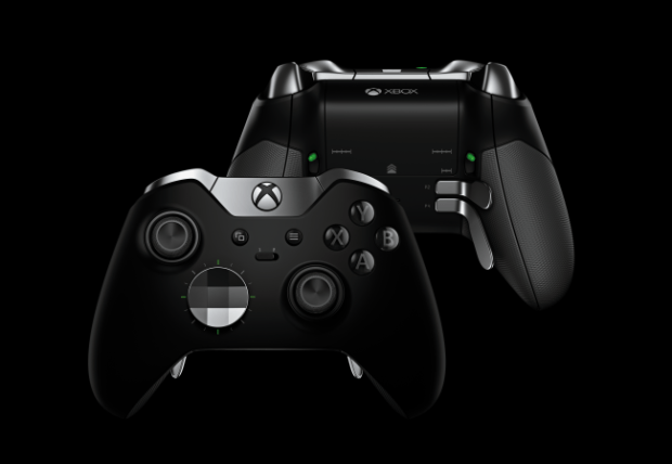 Xbox One elite controller with detachable triggers