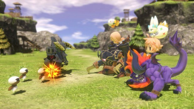 World of Final Fantasy Mirages