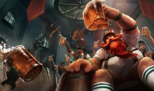Gragas Kicked out of League of Legends World Championships