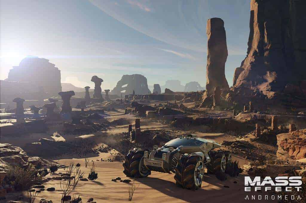 "Mass Effect: Andromeda's size is ""Staggering"": Bioware"