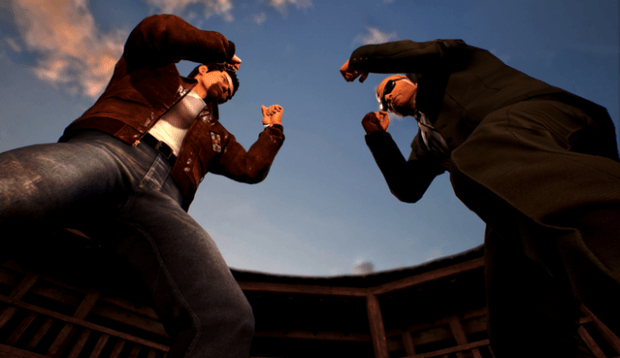 Shenmue 3 footage