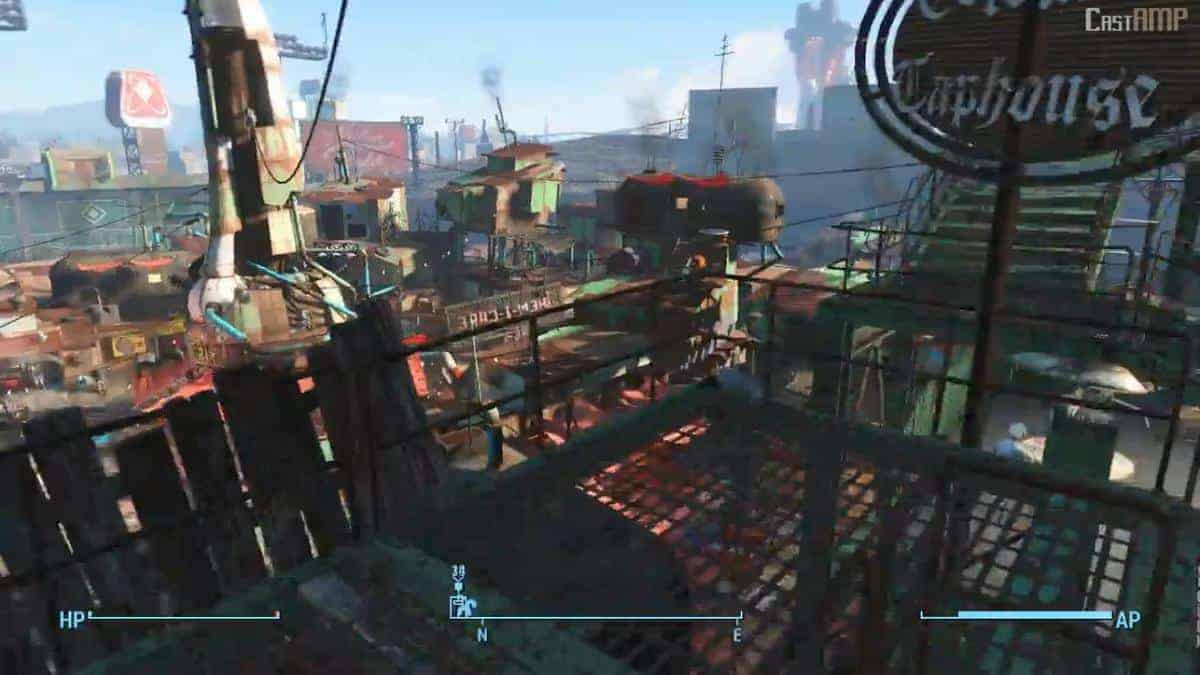 Fallout 4 settlements locations how to unlock workshops for Best house designs fallout 4