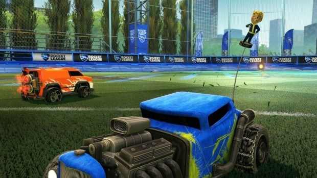Fallout 4 based DLC in Rocket League