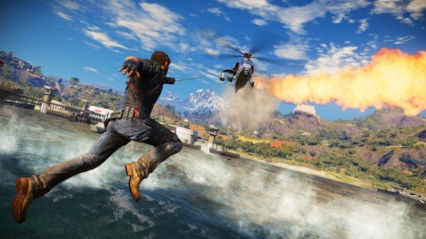Just Cause 3 on Playstation Plus