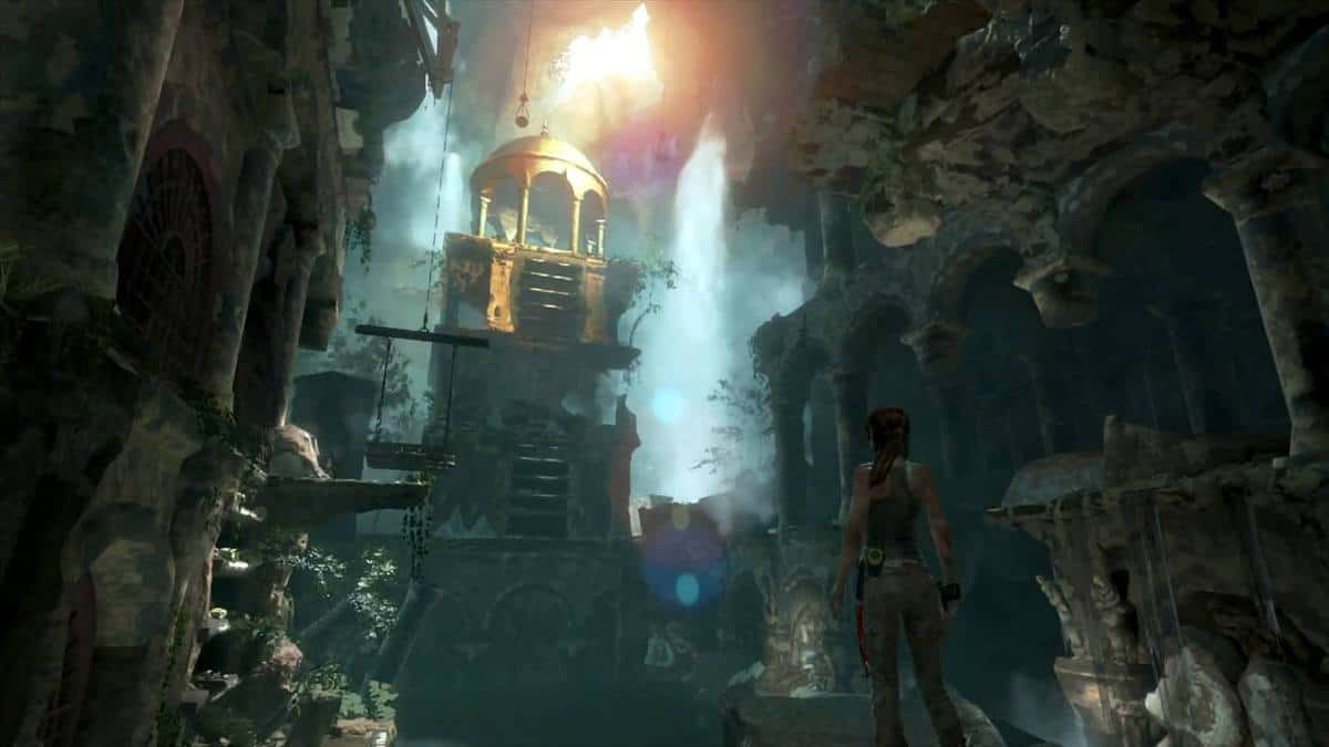 rise of the tomb raider xbox one vs xbox 360 decade old hardware holds its own segmentnext. Black Bedroom Furniture Sets. Home Design Ideas