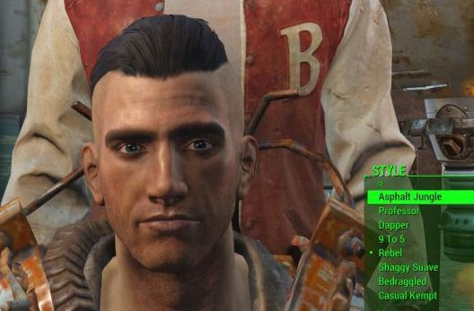 how to change your name in fallout 4
