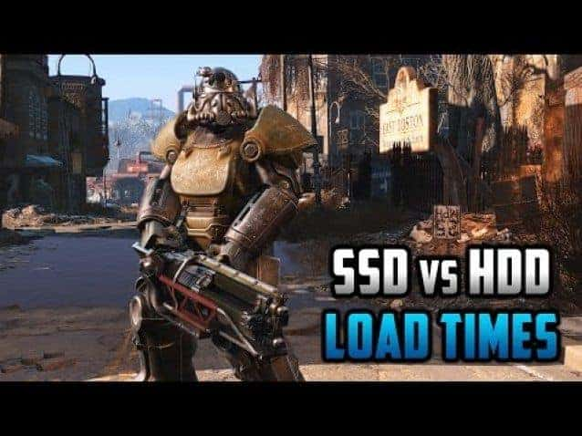 Fallout 4 for PC: SSD Load Times Compared Against HDD's