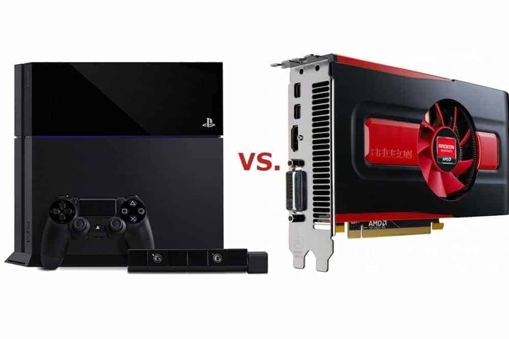 PlayStation 4 vs PC