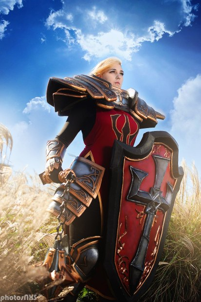 Cosplay Johanna from Heroes of the Storm