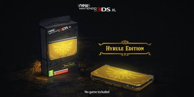Nintedno 3DS XL Hyrule Edition