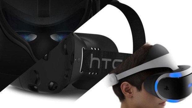 Virtual Reality - HTC Vive - Oculus Rift - PlayStation VR