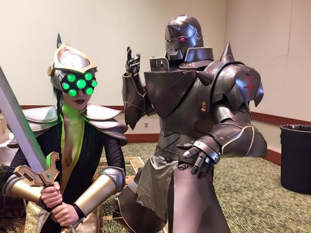 cosplay master yi from LoL 2