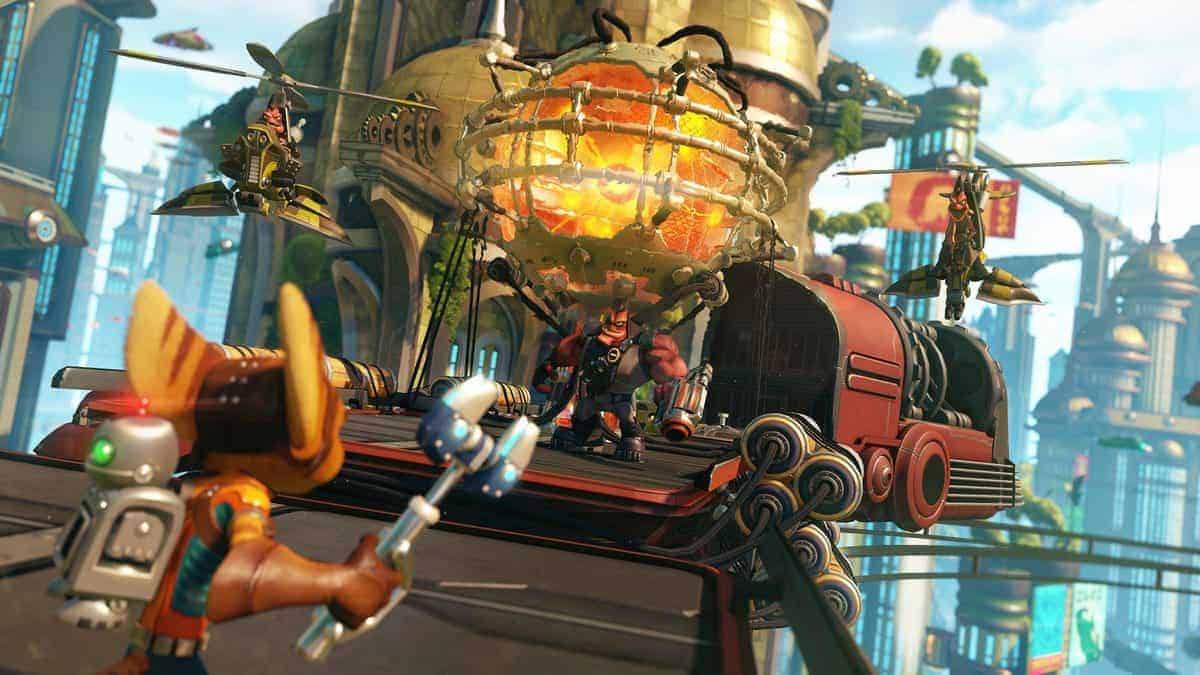 PS4 Pro version of Ratchet and Clank