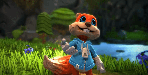 Conker is coming to hololens