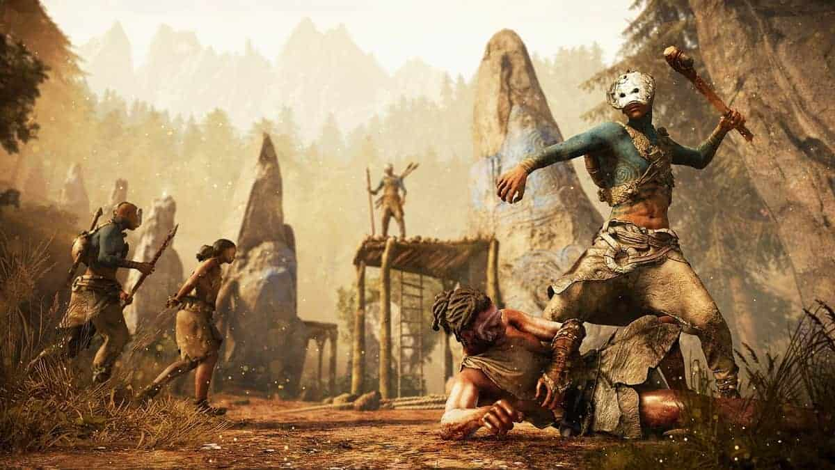 Building the Far Cry Primal Stone Age Fantasy