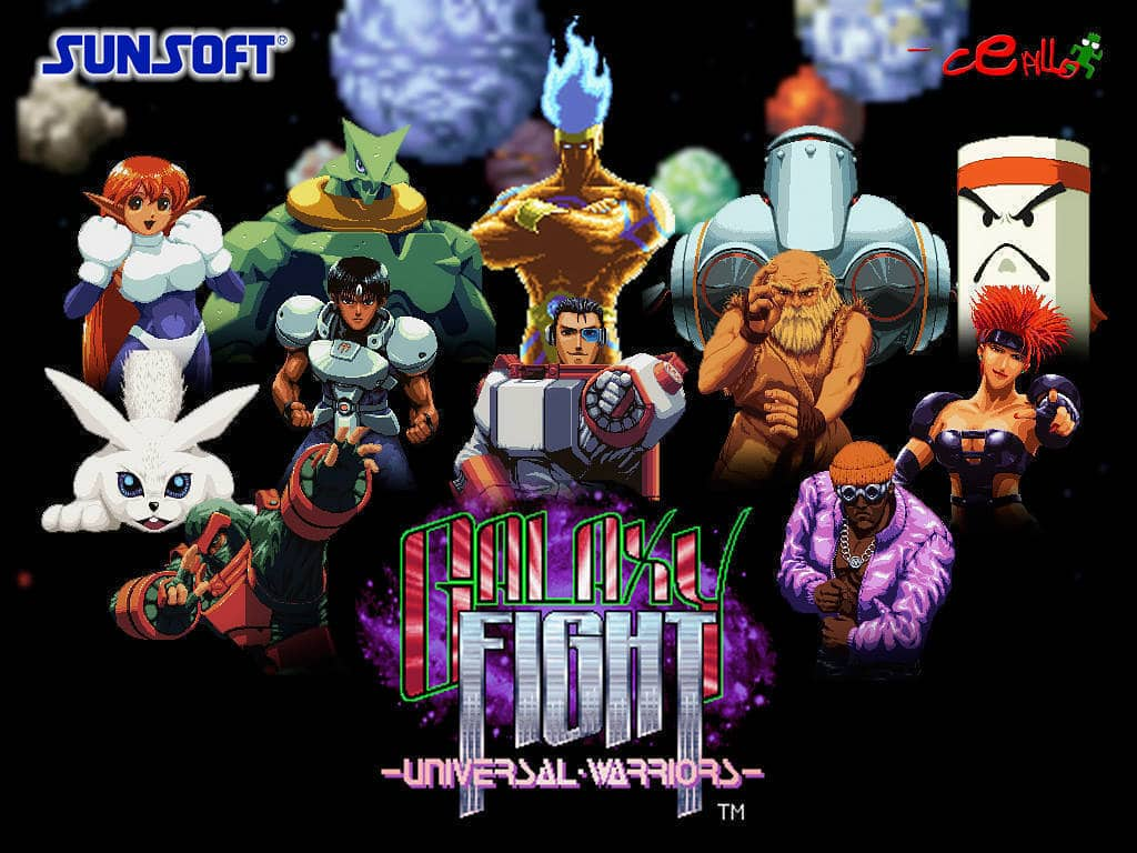 Galaxy Fight - Universal Warriors