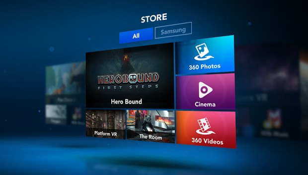 Gear VR Store