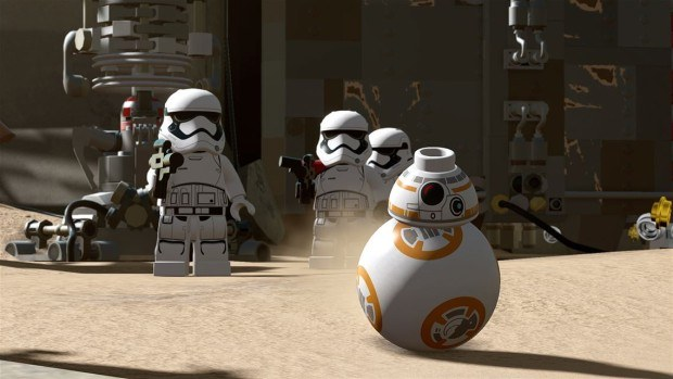 LEGO Star Wars The Force Awakens gameplay