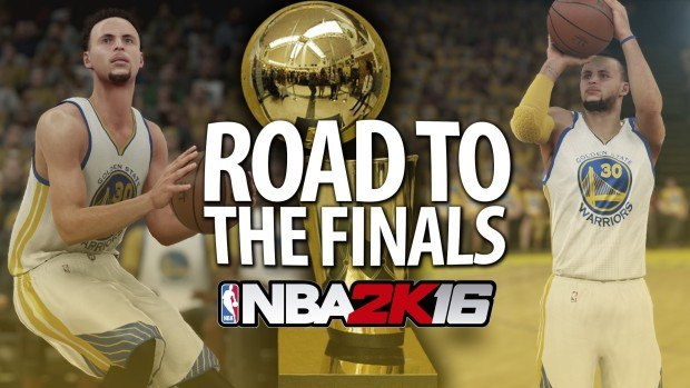 NBA 2K16 Road to Finals