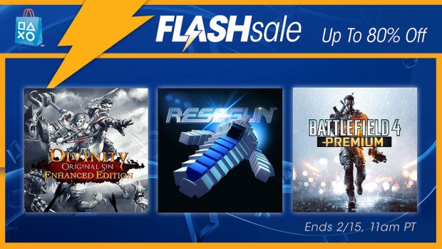 new PSN Flash sale